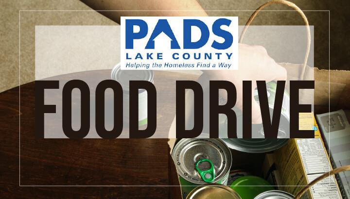 PADS Food Drive