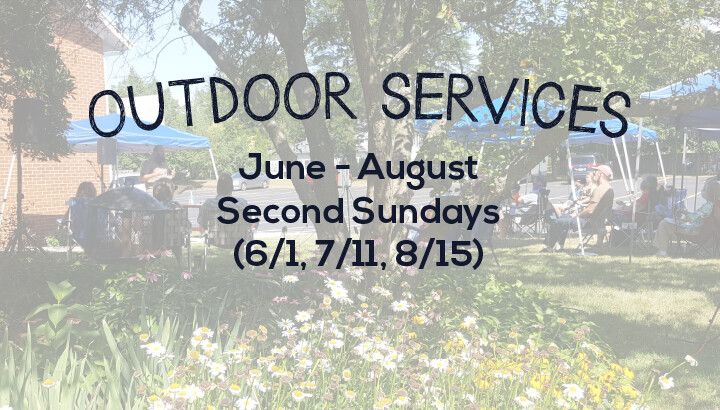 Outdoor Services, 2nd Sunday