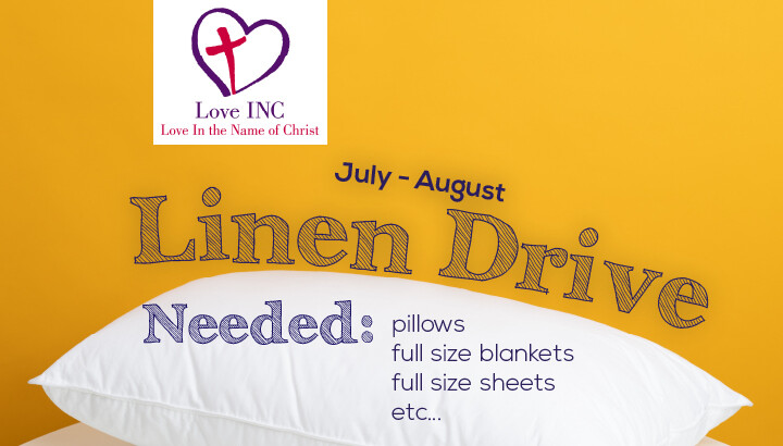 Love INC Linen Drive
